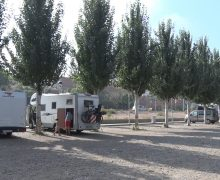 Balaguer a l'espera de la CHE per inaugurar oficialment l'aparcament d'autocaravanes