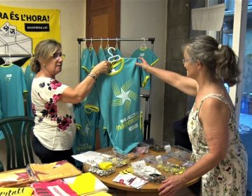 L'ANC de Balaguer inicia la venda de samarretes i tiquets d'autobús per la Diada