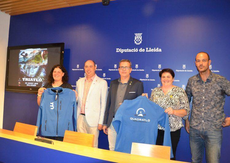 Balaguer organitza el 14è Triatló de Muntanya i la segona edició del Quadratló
