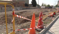 Tram final de les obres del carrer Noguera Pallaresa