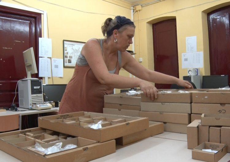 Inici de l'estudi de les peces trobades a la Cova Gran de Santa Linya del període Azilià