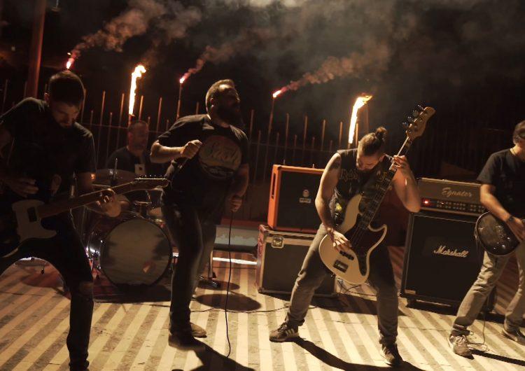 El grup Saüc enregistra el seu nou videoclip a Balaguer