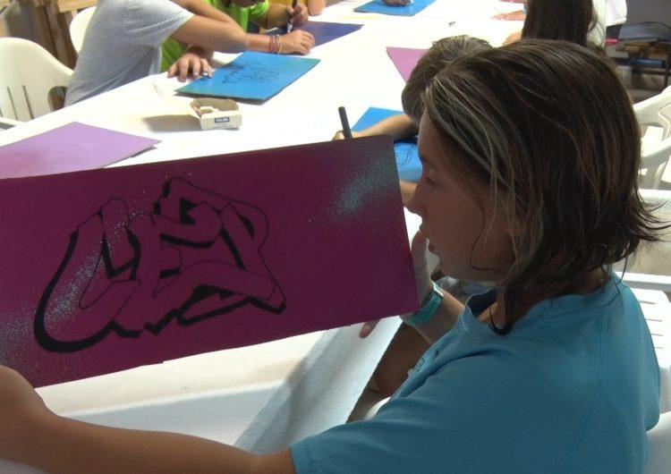 Térmens acull una nova edició del taller de graffitis
