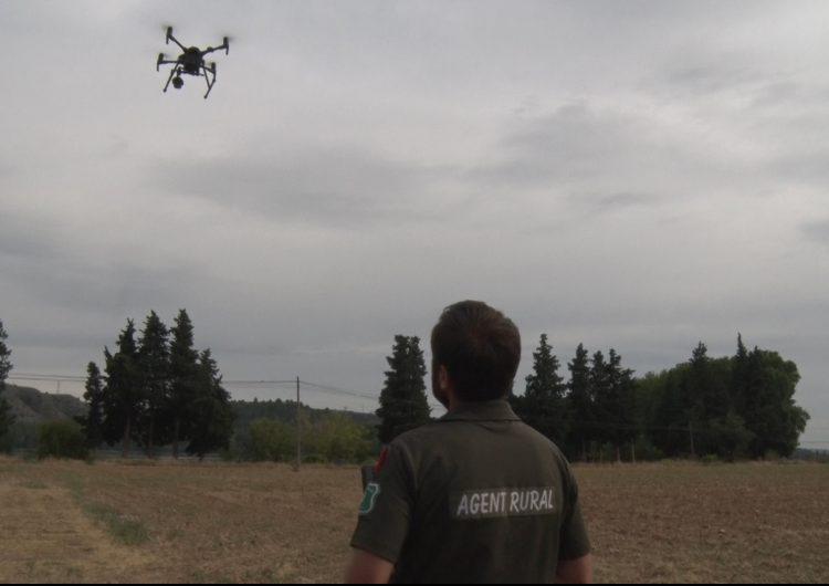 Els Agents Rurals incorporen els drons per millorar la seva operativitat