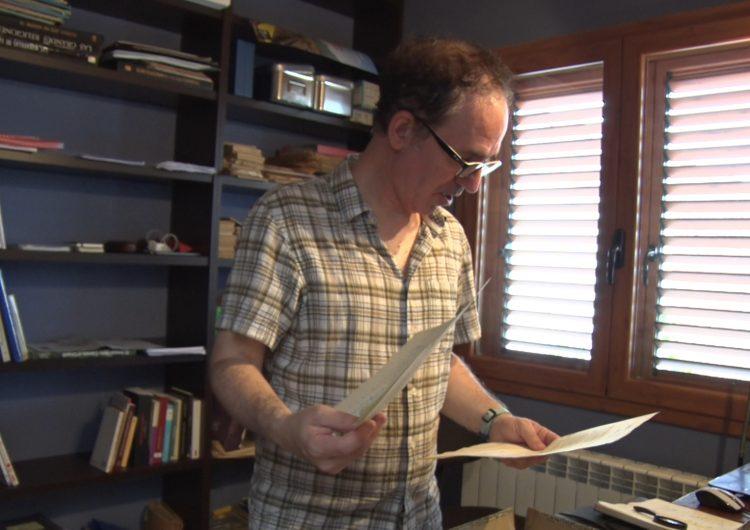 L'escriptor Francesc Canosa prepara un nou llibre sobre la construcció del canal d'Urgell
