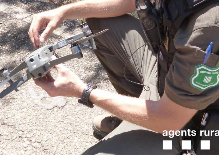 Els Agents Rurals denuncien a una persona a Camarasa per fer volar un dron dins l'Espai d'Interès Natural