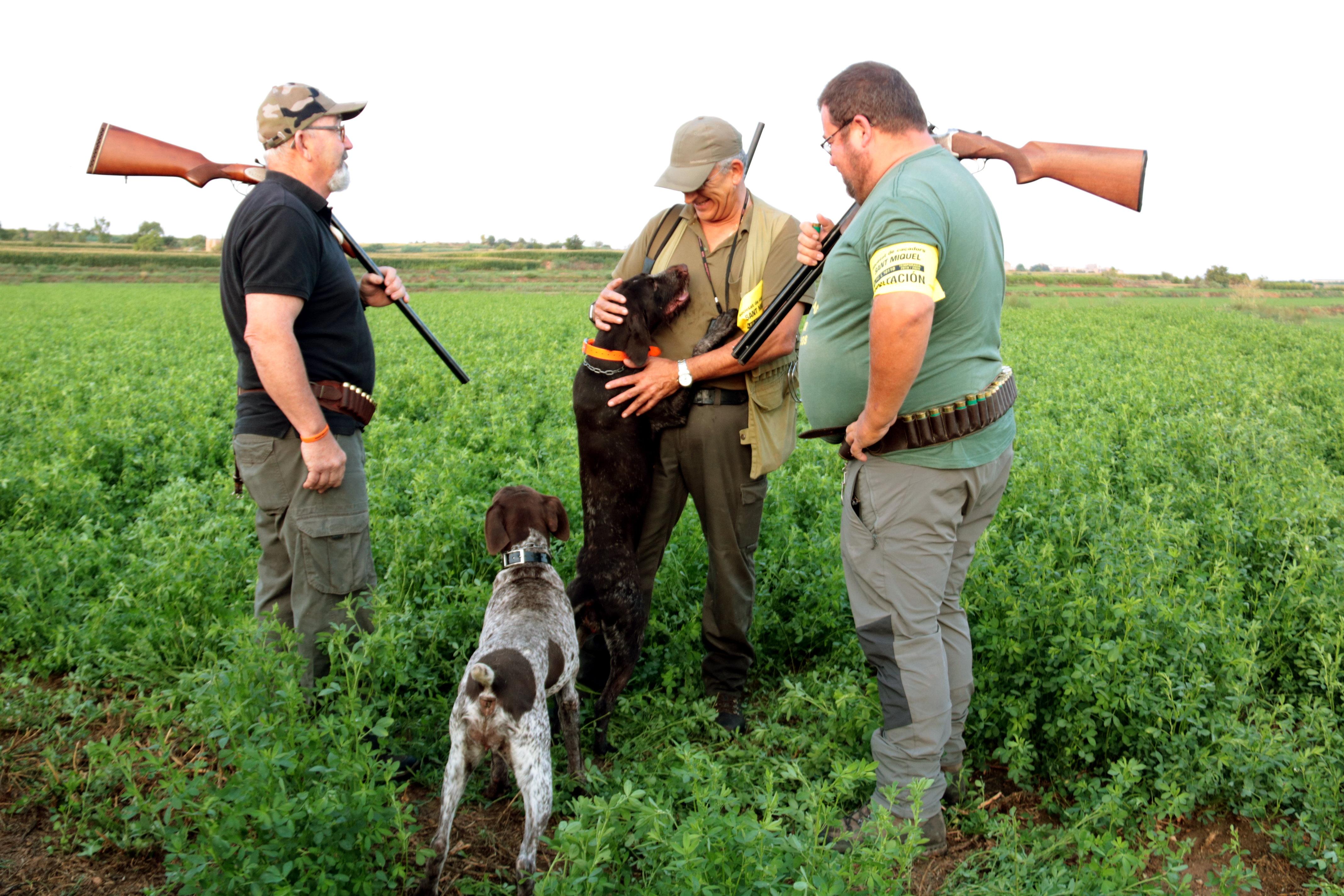 Les comarques de Lleida obren la mitja veda de caça, una setmana més tard de l'habitual