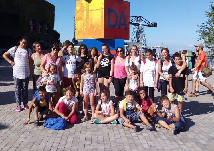 El SIS de la Noguera visita el parc d'atraccions el Tibidabo