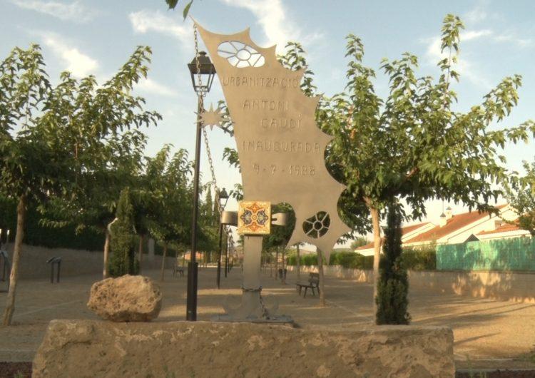 Bellcaire d'Urgell estrena la remodelació del passeig i la plaça de la urbanització Antoni Gaudí