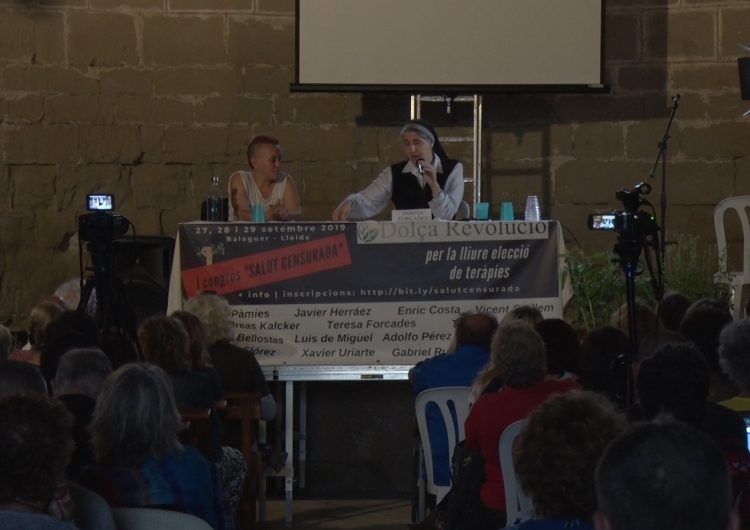 El Monestir de les Franqueses, escenari del primer 'Congrés de Salut Censurada'