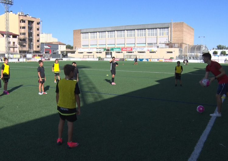 Els equips de la base del CF Balaguer comencen els entrenaments de la temporada 2019-2020