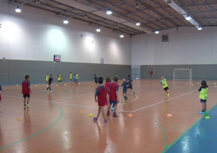 L'Escola de Futbol Sala Balaguer Vedruna, en marxa