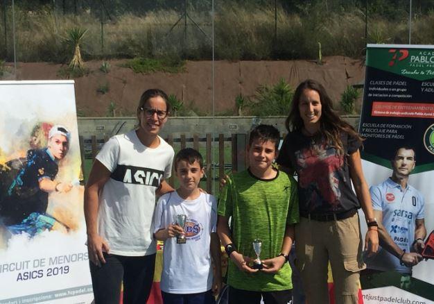 El balaguerí Iker Castillo i Gerard Navas, sotscampions en categoria aleví V Super Gran Slam de Menors de pàdel