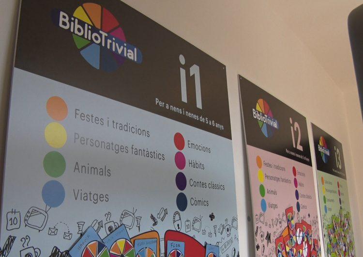 S'acaba la segona edició del Bibliotrivial amb bona acollida entre els infants