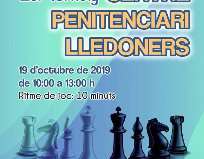 L'Acadèmia d'Escacs Josep Oms i la Federació Catalana d'Escacs organitzen el 1r torneig Centre Penitenciari Lledoners