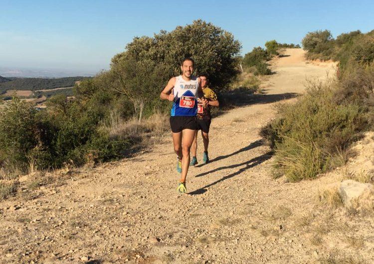 Anna Cisquella i Josep Maria Segura, vencedors de la Trail – Caminada Peülles Monestir de les Avellanes