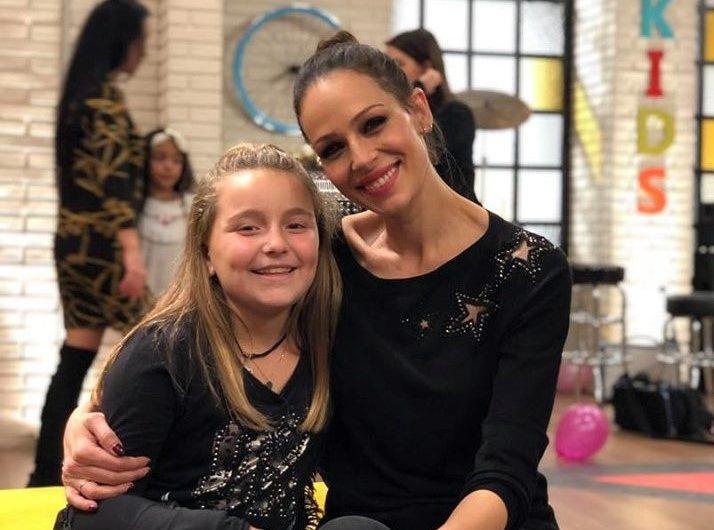 "La jove cantant balaguerina Miss Maria Sweety, avui a ""La Voz Kids"""