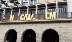 Uns vàndals destrossen dues pancartes a Balaguer