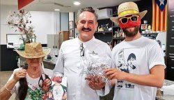 El gest solidari d'un mediàtic cuiner balaguerí