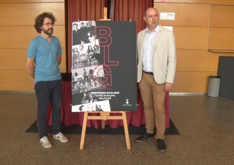 La nova temporada del Teatre Municipal de Balaguer incorpora el cicle de petit format 'A Escena'
