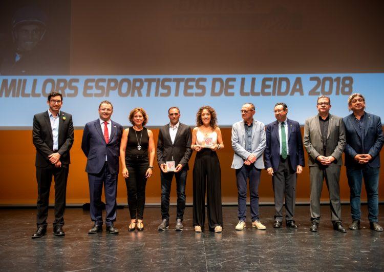 Albert Hermoso i Ramona Gabriel, millors esportistes lleidatans del 2018