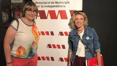 Elisabet Lizaso agafa el relleu de Montserrat Fornells a la vicepresidència de l'AMI