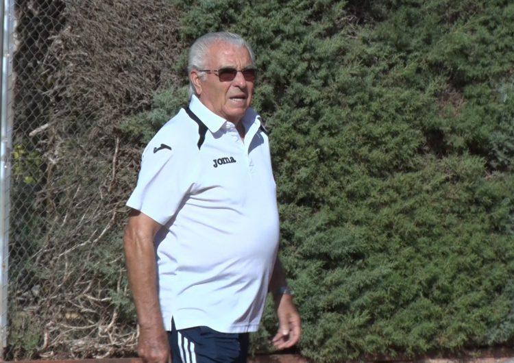 Antonio Carreño, el millor tennista de l'Estat espanyol de la seva categoria d'edat