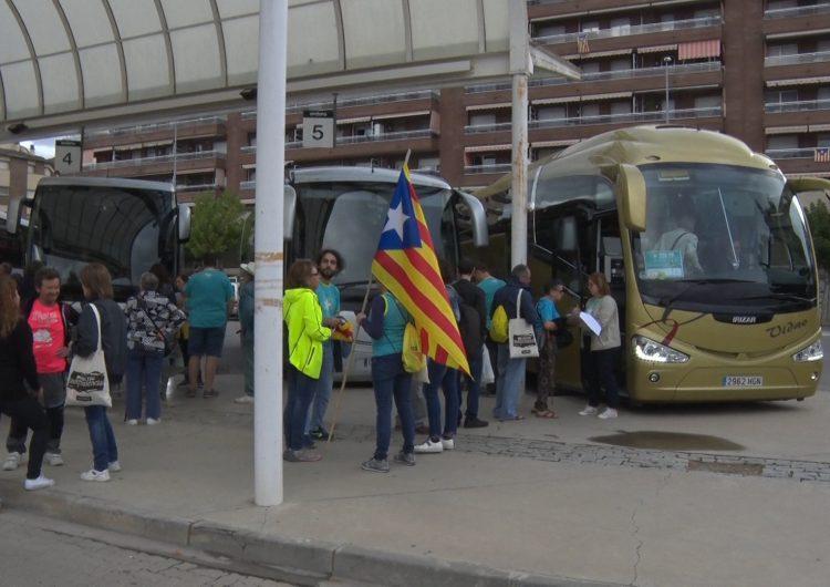 Balaguer es mobilitza per la manifestació de la Diada de l'Onze de Setembre
