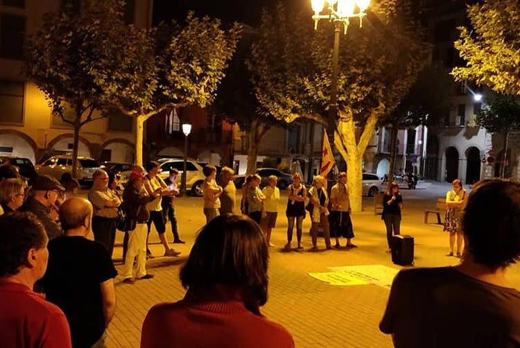 Concentració a Balaguer contra la presó dels set membres dels CDR