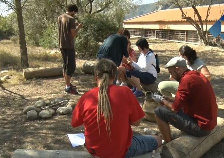 L'Espai Orígens acull un curs per aprendre a ensenyar la prehistòria