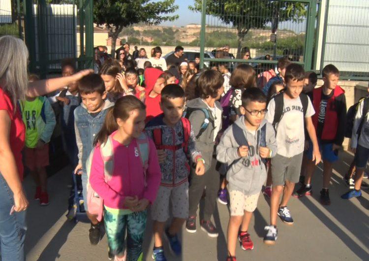 L'Escola Mont-Roig inicia el curs escolar amb la promesa de l'eliminació dels barracons