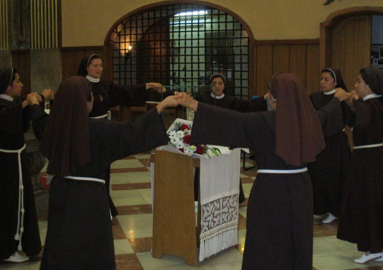 Les monges clarisses del Sant Crist inicien un període d'oració en motiu de la pandèmia del coronavirus