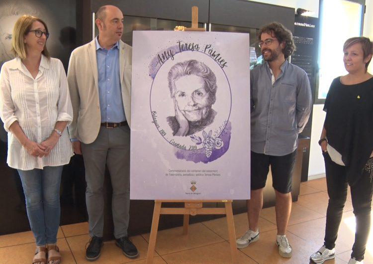 Balaguer celebra l'Any Teresa Pàmies amb un ampli programa d'activitats