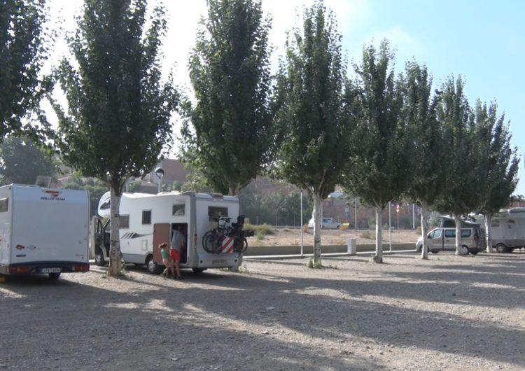 La CHE no autoritza pernoctar al nou pàrquing d'autocaravanes de Balaguer en ser zona inundable