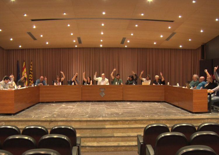 El ple de Balaguer aprova una moció de rebuig a l'empresonament dels set membres dels CDR