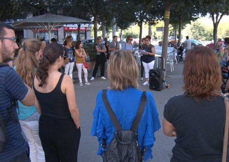Una ruta literària descobreix la Balaguer de Teresa Pàmies