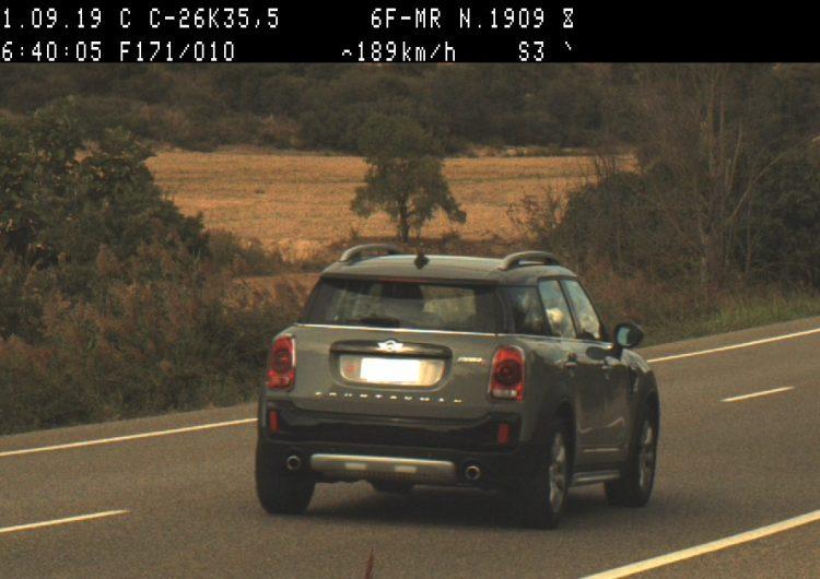 Els Mossos d'Esquadra denuncien penalment tres conductors a Ponent per circular a una velocitat penalment punible