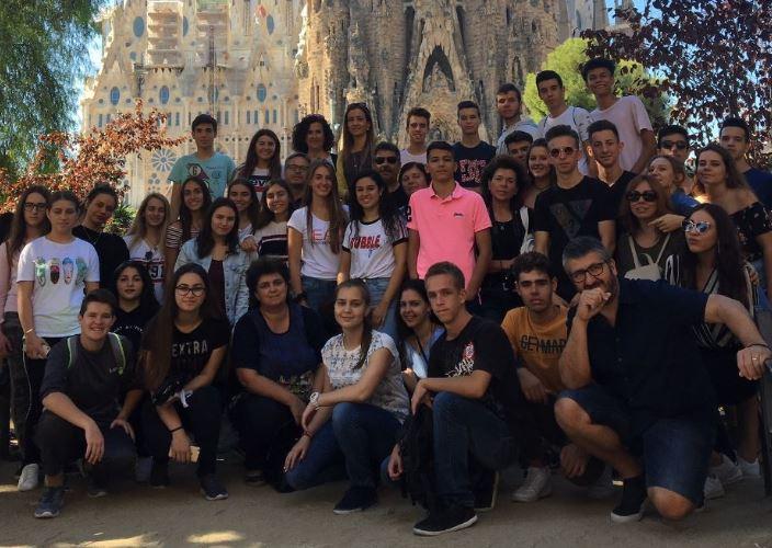 """Una quarantena d'alumnes de l'Escola Vedruna participaran als programes europeus """"Erasmus+"""""""