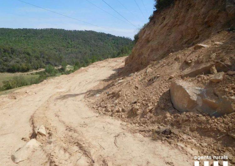 Denúncies a la Noguera per malmetre zones forestals