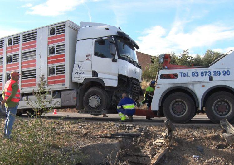 Les víctimes de l'accident de trànsit a la Sentiu de Sió són dos homes de Balaguer