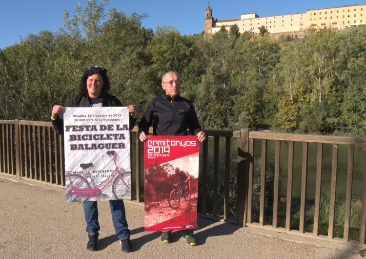 La bicicleta serà la protagonista del cap de setmana a Balaguer