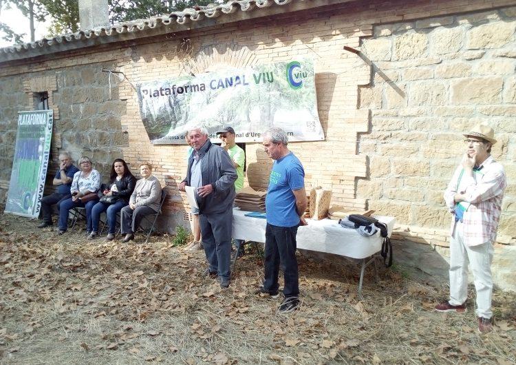 La Plataforma Canal Viu celebra el Dia de les Banquetes al Castell del Remei