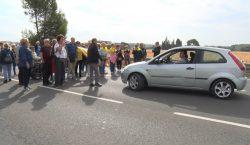 Matí de reivindicacions en contra de la sentència a Balaguer