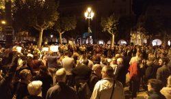 Balaguer surt al carrer en protesta a la sentència del…