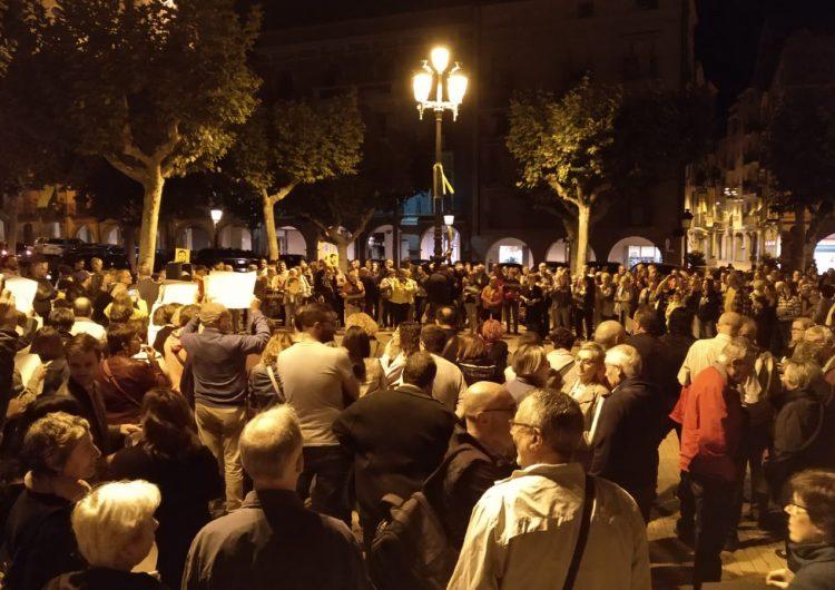 Balaguer surt al carrer en protesta a la sentència del Suprem