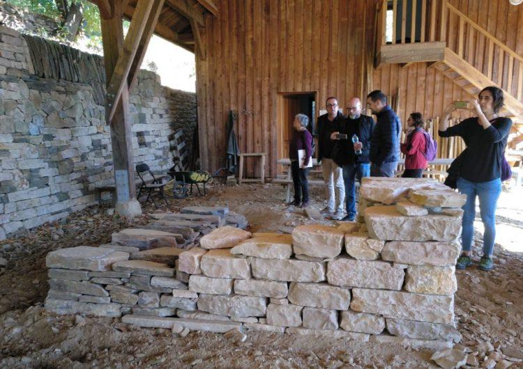 """Balaguer estudia la possibilitat d'oferir cursos de formació de pedra seca dins del programa """"Treball als Barris"""""""