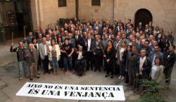 Més d'un centenar d'alcaldes i regidors lleidatans mostren el rebuig…