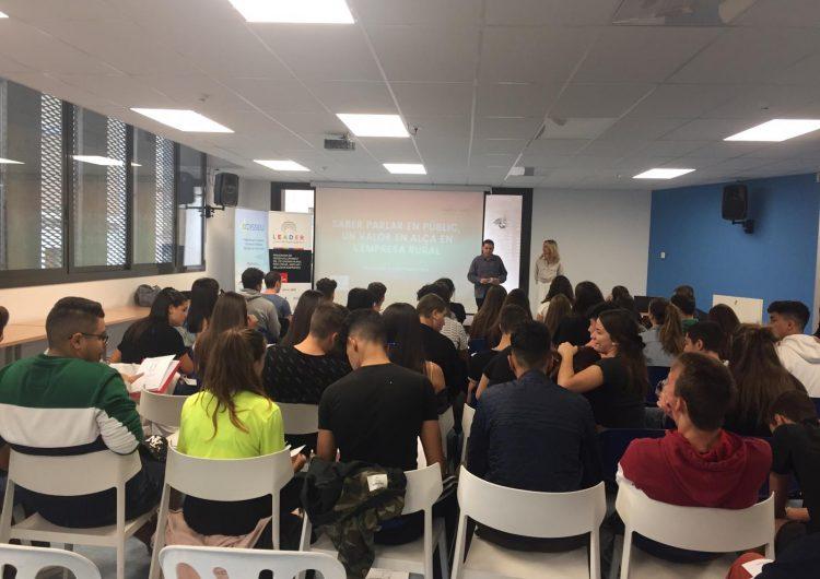 Uns 300 alumnes de 5 instituts de la Noguera participen al programa Arrenca d'emprenedoria juvenil