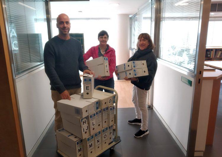 L'Escola de Música de Balaguer ingressa la documentació històrica del centre a l'Arxiu Comarcal de la Noguera