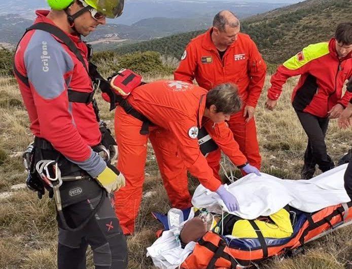 Ferit greu un home que ha patit un accident de parapent a Vilanova de Meià